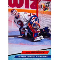 1992-93 Fleer Ultra c. 124 Mark Fitzpatrick NYI