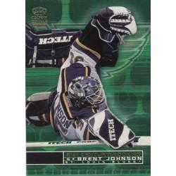 2000-01 Crown Royale 21st Century Rookies c. 021 Brent Johnson STL