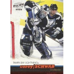 1999-00 Pacific Red c. 395 Corey Schwab TBL