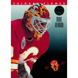 1993-94 Leaf Painted Warriors c. 7of10 Mike Vernon CGY
