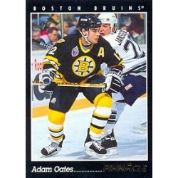1993-94 Pinnacle Canadian c. 185 Oates Adam BOS