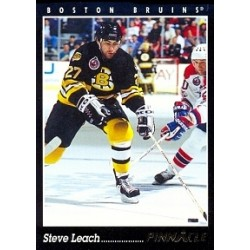 1993-94 Pinnacle Canadian c. 073 Leach Steve BOS