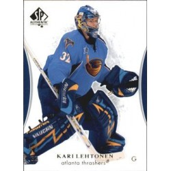 2007-08 SP Authentic c. 043 Kari Lehtonen ATL