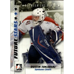 2007-08 Between the Pipes Future Stars c. 013 Dustin Tokarski