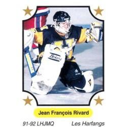 1991-92 7th Inning Sketch QMJHL c. 181 Jean-Francois Rivard