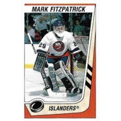 1989-90 Panini Stickers c. 265 Mark Fitzpatrick NYI