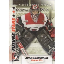 2007-08 In The Game Between the Pipes Future Stars c. 001 Adam Courchaine