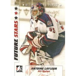 2007-08 In The Game Between the Pipes Future Stars c. 004 Antoine Lafleur