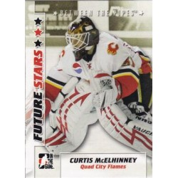 2007-08 In The Game Between the Pipes Future Stars c. 010 Curtis McElhinney