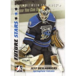 2007-08 In The Game Between the Pipes Future Stars c. 017 Jeff Deslaurues