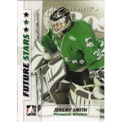 2007-08 In The Game Between the Pipes Future Stars c. 019 Jeremy Smith