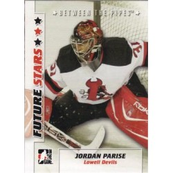 2007-08 In The Game Between the Pipes Future Stars c. 024 Jordan Parise