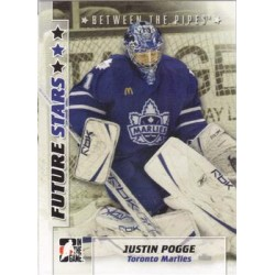 2007-08 In The Game Between the Pipes Future Stars c. 029 Justin Pogge