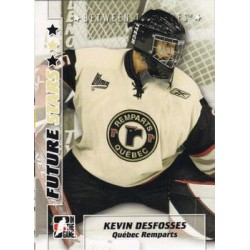 2007-08 In The Game Between the Pipes Future Stars c. 031 Kevin Desfosses
