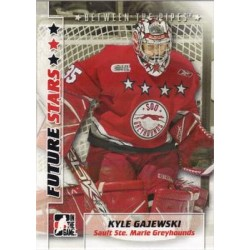 2007-08 In The Game Between the Pipes Future Stars c. 033 Kyle Gajewski