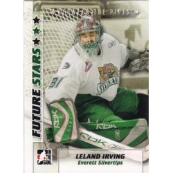 2007-08 In The Game Between the Pipes Future Stars c. 034 Leland Irving