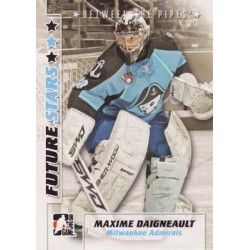 2007-08 In The Game Between the Pipes Future Stars c. 038 Maxime Daigneault