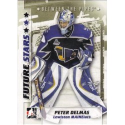 2007-08 In The Game Between the Pipes Future Stars c. 043 Peter Delmas