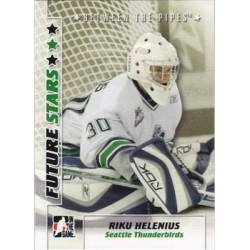 2007-08 In The Game Between the Pipes Future Stars c. 044 Riku Helenius