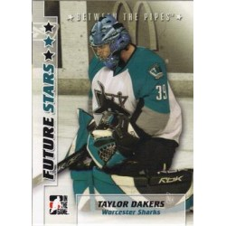 2007-08 In The Game Between the Pipes Future Stars c. 050 Taylor Dakers