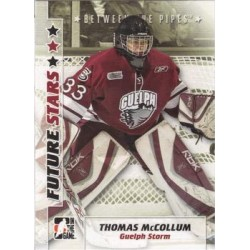 2007-08 In The Game Between the Pipes Future Stars c. 052 Thomas McCollum