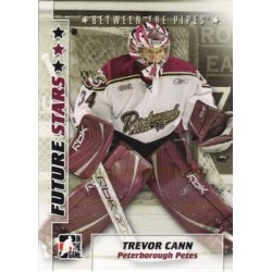 2007-08 In The Game Between the Pipes Future Stars c. 057 Trevor Cann