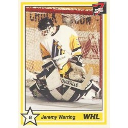 1990-91 7th Inning Sketch WHL c. 102 Jeremy Warring