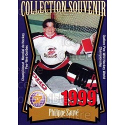 1999 Quebec Pee-Wee Tournament Collection c. 019 Phillipe Sauve