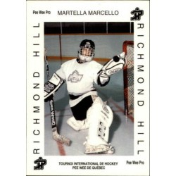 1992 Quebec Pee-Wee Tournament Collection c. 359 Marcello Martella