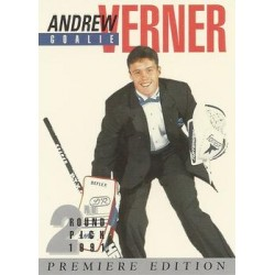 1991 Arena Draft Picks French c. 025 Andrew Verner