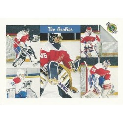 1991 Ultimate Draft - French c. 057 Andrew Verner / Chris Osgood / Jamie McLennan / Marcel Cousineau / Mike Torchia