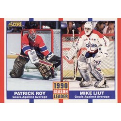 1990-91 Score 1990 Season Leader c. 354 Patrick Roy / Mike Liut WSH