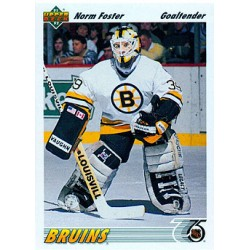 1991-92 Upper Deck c. 465 Norm Foster BOS