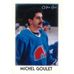 1987-88 O-Pee-Chee Leaders Mini c. 012 Michel Goulet QUE