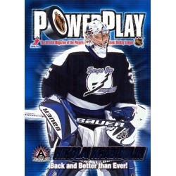 2001-02 Pacific Adrenaline PowerPlay c. 33 Nikolai Khabibulin TBL