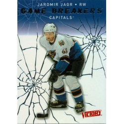 2003-04 Victory Game Breakers c. GB18 Jaormir Jagr WSH