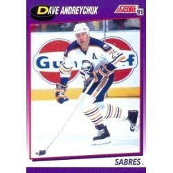 1991-92 Score American c. 277 Andreychuk Dave BUF