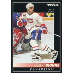 1992-93 Pinnacle c. 005 Gilbert Dionne MON