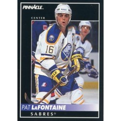1992-93 Pinnacle c. 007 Pat LaFontaine BUF