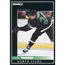 1992-93 Pinnacle c. 018 Mark Tinordi MNS