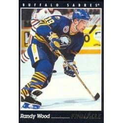 1993-94 Pinnacle Canadian c. 177 Wood Randy BUF