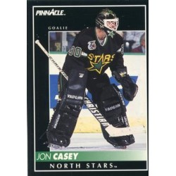 1992-93 Pinnacle c. 042 Jon Casey MNS