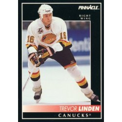 1992-93 Pinnacle c. 047 Trevor Linden VAN