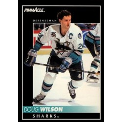 1992-93 Pinnacle c. 052 Doug Wilson SJS