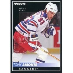 1992-93 Pinnacle c. 055 Tony Amonte NYR