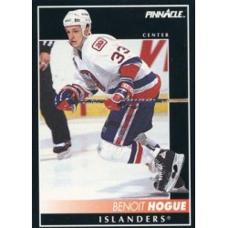 1992-93 Pinnacle c. 062 Benoit Hogue NYI