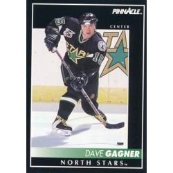 1992-93 Pinnacle c. 085 Dave Gagner MNS