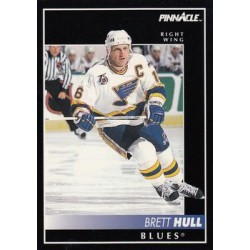1992-93 Pinnacle c. 100 Brett Hull STL