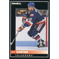 1992-93 Pinnacle c. 102 Jeff Norton NYI