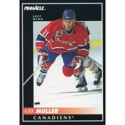 1992-93 Pinnacle c. 111 Kirk Muller MON